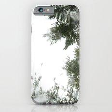 rainy trees ~ nature iPhone 6s Slim Case