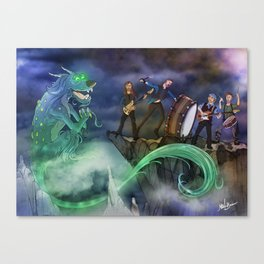 Dragon's Imagined Canvas Print