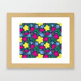 Floral Festival Framed Art Print