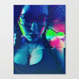 Cybernetic Celluloid Canvas Print