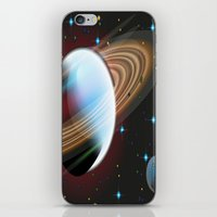 planets iPhone & iPod Skins featuring Planets by Kaitlynn Marie