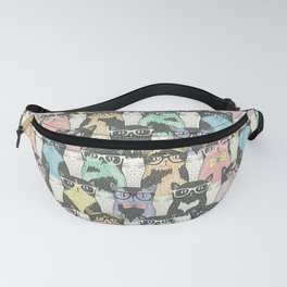 plan of cats Fanny Pack