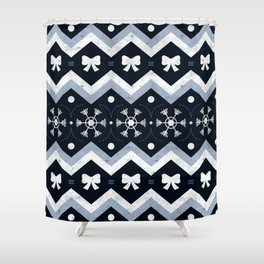 Sweater Weather Shower Curtain