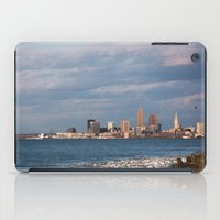 cleveland iPad Cases featuring Cleveland Rocks by GammaRayRobot