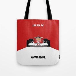1976 M23 James Hunt Tote Bag