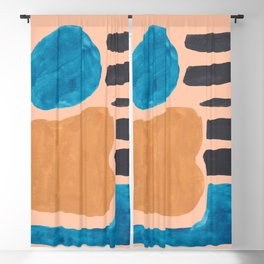13| 190330 Abstract Shapes Painting Blackout Curtain