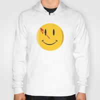 watchmen Hoodies featuring Who watches the watchmen?  by Vickn