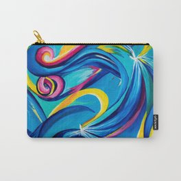 Colorful Abstract Reiki2 Carry-All Pouch