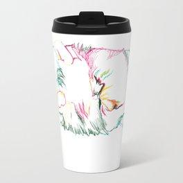 Fluffy Kitty Travel Mug