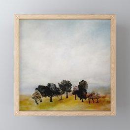 Group of Trees Framed Mini Art Print
