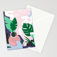 Ferns and Letters Stationery Cards