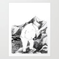 Thinker1 Art Print