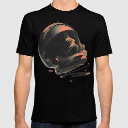 Space Skull Noir T-shirt