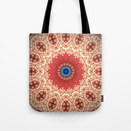 Vintage Mandala Design Tote Bag