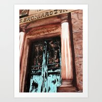 doors Art Prints featuring Doors by Kayla Kristine