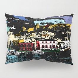 Ibiza Town Pillow Sham