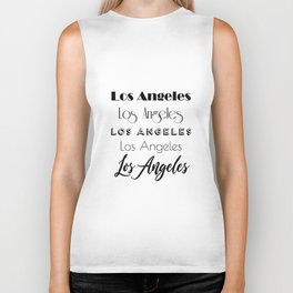 Los Angeles City Quote Sign, Digital Download, Calligraphy Text Art, Large Printable Photography Biker Tank