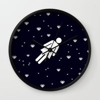 lucy Wall Clocks featuring Lucy by Viktor Hertz