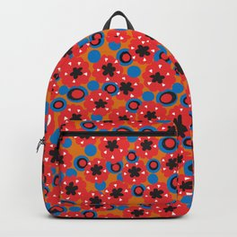 Hendrix 12 String Blazer Pattern Backpack