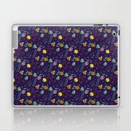 Flora & Beetles (purple) Laptop & iPad Skin