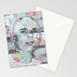 Billy Corgan - We Only Come Out at Night Stationery Cards