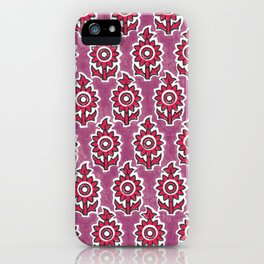 Indian lucite pink iPhone Case