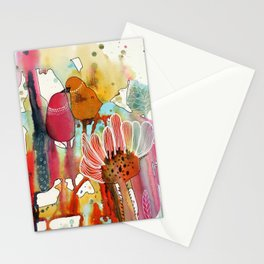 cheek to cheek Stationery Cards