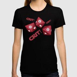 Crit! Crit! Crit! Game T-shirt