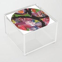 Whirl Abstract Art Acrylic Box