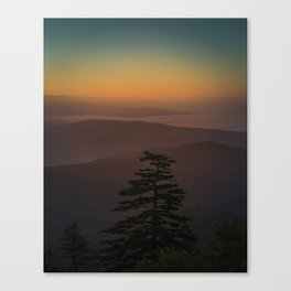 Great Smoky Mountains #society6 #decor #buyart Canvas Print