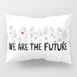 We Are The Future Tattoos Part 1 Pillow Sham