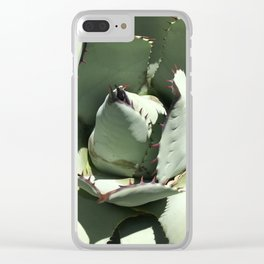Agave Center Clear iPhone Case