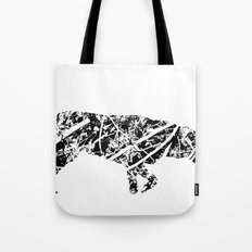 Labrador Scribble Tote Bag