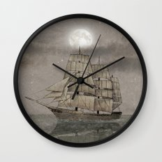 Night Journey  Wall Clock