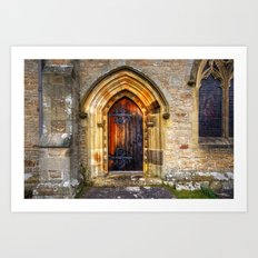 St Andrews Church, Aysgarth Art Print