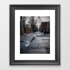 Float on Through Framed Art Print