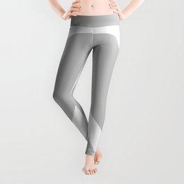 Peace (White & Gray) Leggings