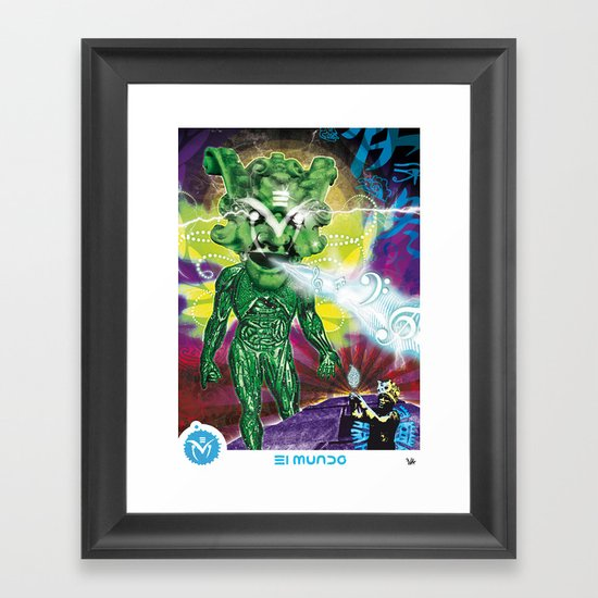 Poster El Mundo Framed Art Print