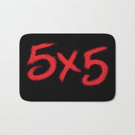 5X5 Bath Mat
