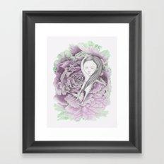 I am a vegetarian Framed Art Print