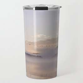 Into the Mists of Dawn Travel Mug