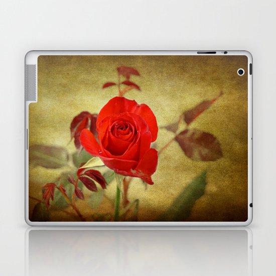 Textured Rose Laptop & iPad Skin