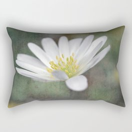 ...all nature is your congratulation... Rectangular Pillow