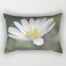 ...all nature is your congratulation... Rectangular Pillow