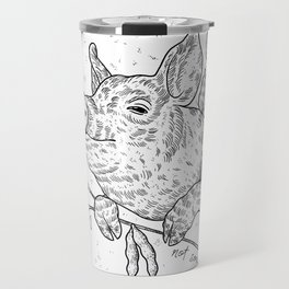 soy not sows <3 Travel Mug