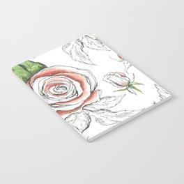 Botany Nature Illustration Notebook