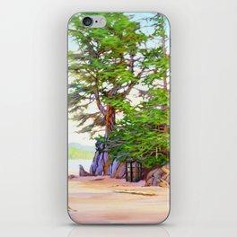 Tardis Stay In The Beach iPhone Skin