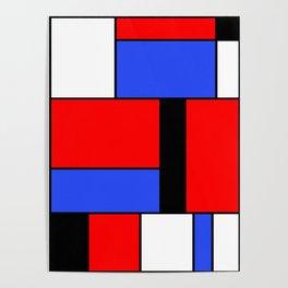 Mondrian #51 Poster