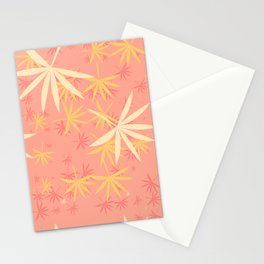 Leaves 5a Stationery Cards