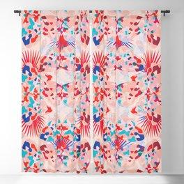Boho Butterflies / 70's kaleidoscope Blackout Curtain
